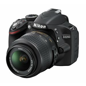 Nikon D3200 KIT WITH AF18-55VR BLACK