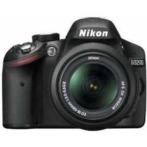 Nikon D3200 KIT WITH AF 18-55VR II BLACK