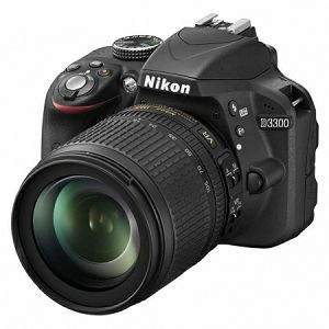Nikon D3300 KIT WITH AF 18-105 VR Black