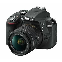 Nikon D3300 KIT AF-P 18-55VR BLACK
