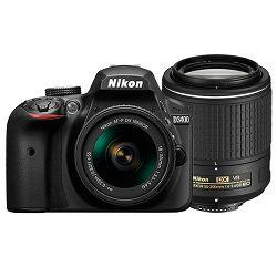 Nikon D3400 KIT AF-P 18-55 VR + AF-S 55-200VRII