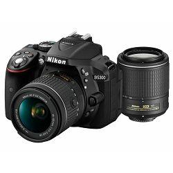Nikon D5300 KIT AF-P 18-55VR + 55-200VRII