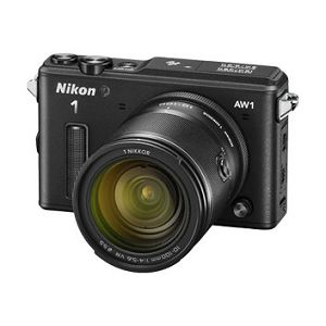 Nikon 1 AW1  + 1 NIKKOR AW 11-27,5 mm  Black