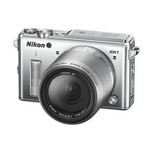 Nikon 1 AW1  + 1 NIKKOR AW 11-27,5 mm  Silver