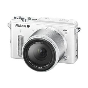 Nikon 1 AW1  + 1 NIKKOR AW 11-27,5 mm  White