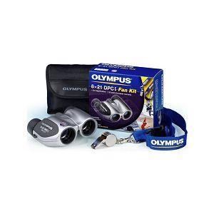 OLYMPUS 8x21 DPC I  Fan Kit (8x21 DPC I silver, whistle, Olympus neckband)