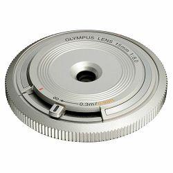 OLYMPUS Body Cap Lens 15mm 1:8.0 / BCL-1580 silver, V325010SE000