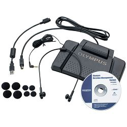 Olympus Dictation & Transcription Kit - Silver Pro, V403121SE010