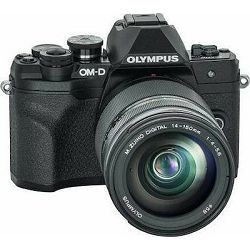 OLYMPUS E-M10 IV 14150 Kit blk/blk, E-M10 IV Body black, M.Zuiko Digital 14-150mm F4.0-5.6 II black, BLS-50, F-5AC USB-AC Adapter, USB cable, Shoulder Strap V207133BE000