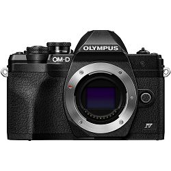 OLYMPUS E-M10 IV Body black, BLS-50, F-5AC USB-AC Adapter, USB cable, Shoulder Strap V207130BE000