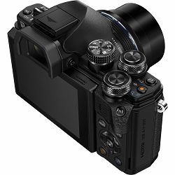OLYMPUS E-M10 II 1442 IIR Kit blk/blk / E-M10 Mark II black + EZ-M1442 IIR (14-42mm) black incl. Charger + Battery, V207051BE000
