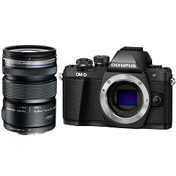 OLYMPUS E-M10II EZ1250 Kit blk / E-M10 Mark II body blk + EZ 12-50mm  blk incl. Charger & Battery, V207050BE010