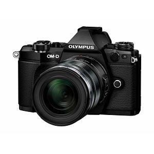 OLYMPUS E-M5II 1250 Kit 12-50mm blk/blk / E-M5 Mark II black + EZ-M1250 black