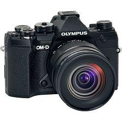 OLYMPUS E-M5III 1245 Kit blk/blk / E-M5 Mark III black + EZ-M1245 PRO black incl. Lens hood & Wrapping cloth V207092BE000