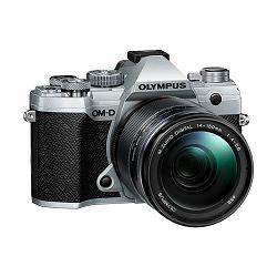 Olympus E-M5III 1415II Kit slv/blk / E-M5 Mark III silver + EZ-M14-150mm black, V207091SE000