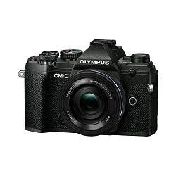 Olympus E-M5III Pancake Zoom Kit blk/blk / E-M5 Mark III black + EZ-M14-42mm EZ black, V207090BE030