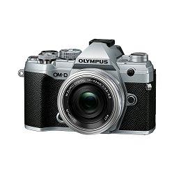 Olympus E-M5III Pancake Zoom Kit slv/slv / E-M5 Mark III silver + EZ-M14-42mm EZ silver, V207090SE030
