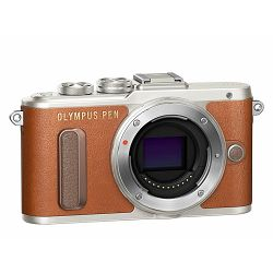 OLYMPUS E-PL8 Body brown incl. Charger + Battery, V205080NE000