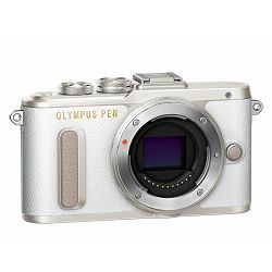 OLYMPUS E-PL8 Body white incl. Charger + Battery, V205080WE000