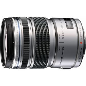 OLYMPUS M.Zuiko Digital ED 12-50mm 1:3.5-6.3 / EZ-M1250 SREBRNI