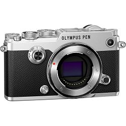 OLYMPUS PEN-F Body silver  incl. Charger + Battery