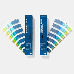 Pantone Limited Edition Formula Guide Coated and Uncoated, Pantone Color of the Year 2020 Classic Blue, GP1601ACOY20