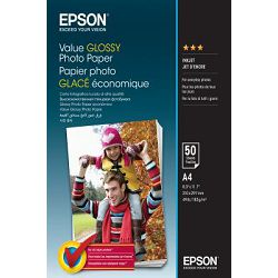 Epson Papir Value Glossy Photo Paper A4 50 sheet, C13S400036
