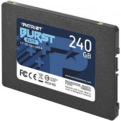 Patriot SSD Burst Elite R450/W320, 240GB, 7mm,2.5