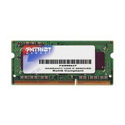 Patriot Sig. SODIMM, DDR3 1600Mhz, 4GB