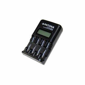 Patona brzi LCD punjač za AA i AAA baterije