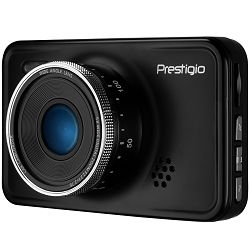 Car Video Recorder PRESTIGIO RoadRunner 526 (FHD 1920x1080@30fps, 3.0 screen, NTK96658, 2 MP CMOS GC2023 image sensor, 12 MP camera, 140° Viewing Angle, Mini USB, 180 mAh, Automatic Night Mode, Moti