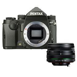 Pentax KP + 18-50mm Black KIT