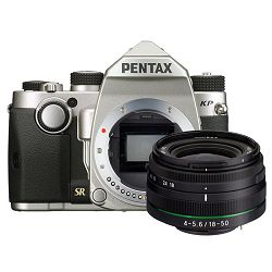 Pentax KP + 18-50mm Silver KIT