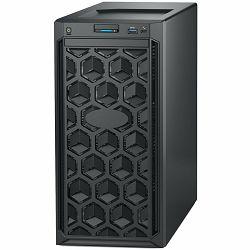 DELL EMC PowerEdge T140, Intel Xeon E-2234 3.6GHz, 16GB 2666MT/s DDR4, 1TB 7.2K RPM SATA 6Gbps 512n 3.5in, iDrac9 Express, DVDRW, PERC H330 RAID, TPM 2.0, On-Board LOM, 3Y NBD