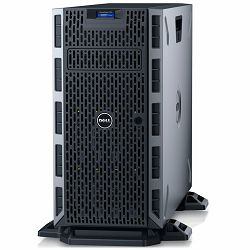 DELL EMC PowerEdge T330 w/8x 3.5in, Intel Xeon E3-1230 v6 3.5GHz, 8M cache, 4C/8T, turbo (72W), 8GB 2666MT/s DDR4, 600GB 10K RPM SAS 2.5in Hot-plug, DVDRW, iDRAC8 Express, FIPS TPM 2.0, On-Board LOM 1