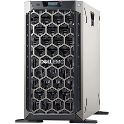 DELL EMC PowerEdge T340 w/8x 3.5, Intel Xeon E-2234 3.6GHz, 8M cache, 4C/8T, turbo (71W), 16GB 2666MT/s DDR4 ECC UDIMM, 480GB SATA SSD 2.5in Hot Plug, PERC H730P RAID, DVDRW, 2x RPS 495W, TPM 2.0, iDr