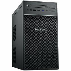 DELL EMC PowerEdge T40, BTX, 3x 3.5in, Intel Xeon E-2224G 3.5GHz, 8GB DDR4 ECC UDIMM, 1TB 7.2K RPM SATA 6Gbps Entry 3.5in, 8x DVDRW 9.5mm, 3Y NBD