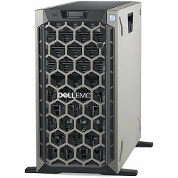 DELL EMC PowerEdge T440 w/8x3.5in, Intel Xeon Silver 4208(2.1G, 8C/16T, 9.6GT/s, 11M, Turbo, HT (85W)), 16GB RDIMM 2666MT/s, 480GB SSD SATA Mix Use 6Gbps 512 2.5in Hot-plug, PERC H730P RAID, 2x RPS 75