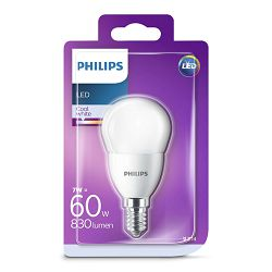Philips LED žarulja, E14, P48, hladna, 7W, matir