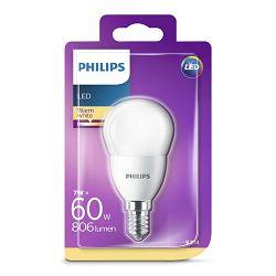 Philips LED žarulja, E14, P48, topla, 7W, matir