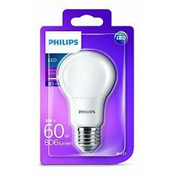 Philips LED žarulja, E27, A60, topla, 60W, mutna