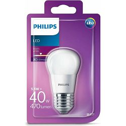 Philips LED žarulja, E27, P45, topla, 40W, mutna
