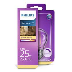 Philips LED žarulja, E27, P45, topla, 2,7W, dim.
