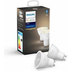 Philips HUE žarulja, GU10, bijela , 2 komada