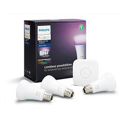 Philips HUE starter kit 3, E27, bijela i boja