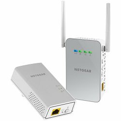 Netgear Powerline 1000 + WiFi, 1 Port 1000Mbps bundle (one PL1000 and one PLW1000 Acces Point)