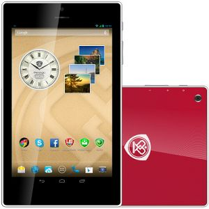 PRESTIGIO MultiPad Color 7.0 3G (7.0 IPS,1280x800,16GB,Android 4.2,QC1.3GHz,1GB,3500mAh,2MP,BT,NFC,GPS,FM,Phone,3G,Pouch) Red Retail