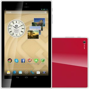 PRESTIGIO MultiPad Color 8.0 3G (8.0 IPS,1280x800,16GB,Android 4.2,QC1.3GHz,1GB,4400mAh,2MP,BT,NFC,GPS,FM,Phone,3G,Pouch) Red Retail