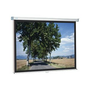 Projecta SlimScreen 125x125 cm. Matte White