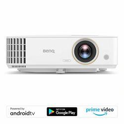 Projektor BenQ TH685i, 1920x1080 FHD HDR, 3500lm, 1.3x, VGA, HDMI, USB-A, Google Android Tv